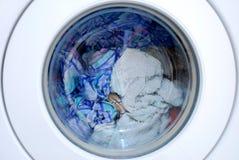 衣物设备洗涤物 免版税图库摄影