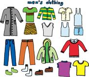 衣物 向量例证