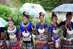 衣物hmong 免版税图库摄影