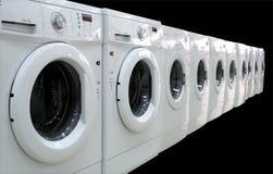 衣裳行洗衣机 库存图片