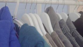 衣裳销售在商店 影视素材
