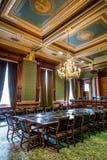 衣阿华状态国会大厦最高法院室 图库摄影