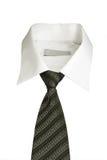 衣领白色 免版税库存照片