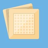 补丁医疗象 平的样式 免版税库存图片