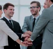 补充的概念:企业队和新的雇员是 免版税库存图片