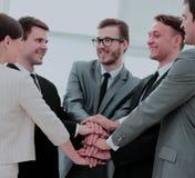 补充的概念:企业队和新的雇员是 库存图片