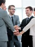 补充的概念:企业队和新的雇员是 库存照片