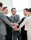 补充的概念:企业队和新的雇员是 免版税库存照片