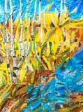 补缀品技术颜色抽象背景  免版税库存照片