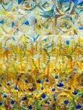 补缀品技术颜色抽象背景  库存图片