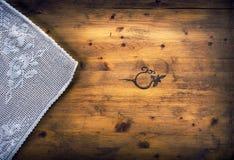 表丝毫小垫布 图库摄影