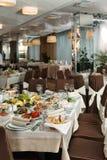 表为事件党或结婚宴会庆祝设置了 库存图片