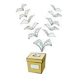 表决或投票 免版税库存图片