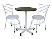 表和椅子 库存例证