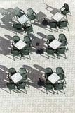 表和椅子 库存图片