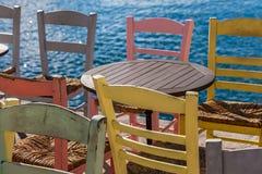 表和椅子 库存照片