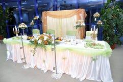 表婚礼 免版税图库摄影