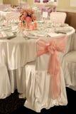 表婚礼 免版税库存图片