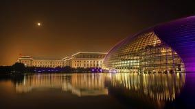 表演艺术的国家中心在中国的 库存照片