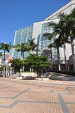 表演艺术艾德丽安Arsht中心在迈阿密,佛罗里达 免版税库存照片