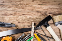 表用工具加工木 库存图片