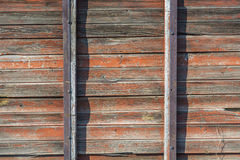 代表老葡萄酒木材板的背景纹理 库存图片