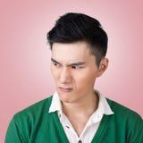 表达式面部滑稽 免版税库存照片