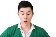 表达式面部滑稽 免版税库存图片