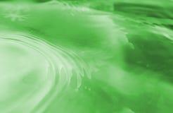水表面。 免版税库存照片