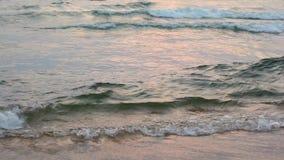 水表面上的波浪 影视素材