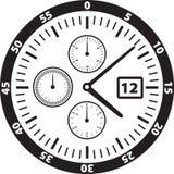 表面例证手表 免版税库存照片