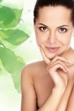 表面健康皮肤妇女 免版税库存照片