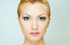 表面健康皮肤 免版税图库摄影