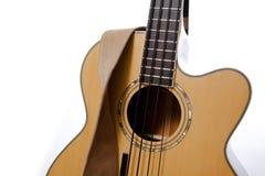 表面吉他皮带 免版税库存图片