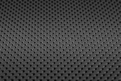 黑表面无光泽的金属网现代样式背景 免版税库存照片