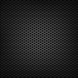 表面无光泽的黑滤网格栅 免版税库存照片