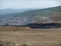 表面煤矿 图库摄影