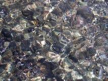 水表面纹理 库存照片