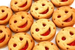 表面组微笑 免版税图库摄影