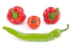 表面蔬菜 库存照片