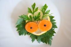 表面蔬菜 库存图片