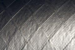 表面银灰色 免版税库存图片