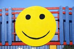 表面面带笑容 免版税库存照片