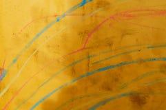 表面黄色 免版税库存照片