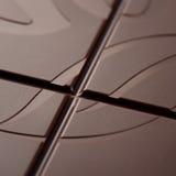 表面黑暗的巧克力 库存照片