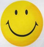表面positiv黄色 库存照片