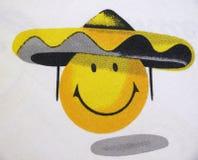 表面positiv黄色 免版税图库摄影