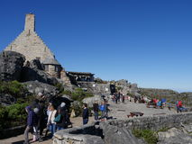 表MountainCape镇,南非洲8月15日2016年 库存图片