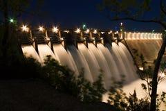 表Rock湖水坝 免版税图库摄影