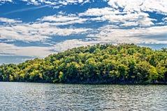 表Rock湖 密苏里 图库摄影